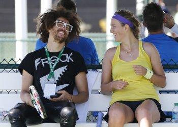 Redfoo et Vika à Indian Wells