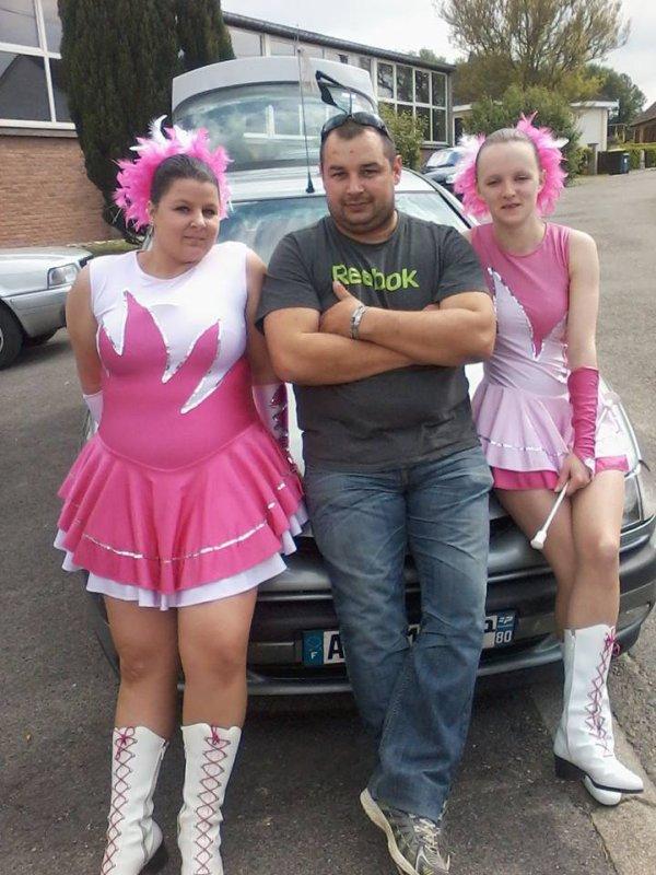 Notre chauffeur et DJ Thierry :)