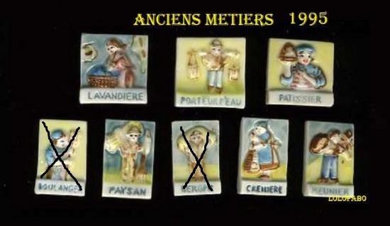 MES RECHERCHES : ANCIENS METIERS 1995