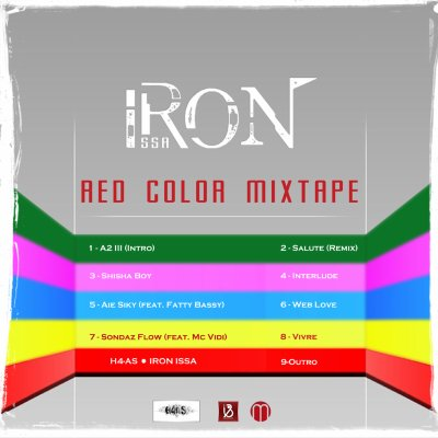 TRACKLIST de la RED COLOR MIXTAPE