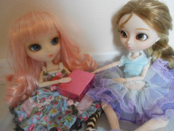 Crystal et Ambre