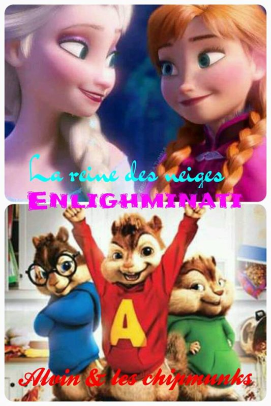 Frozen et Alvin and the Chipmunks