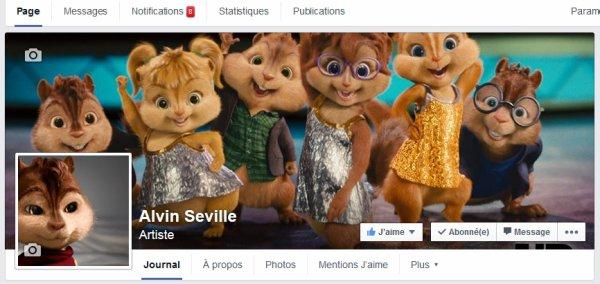 Ma page Alvin Seville