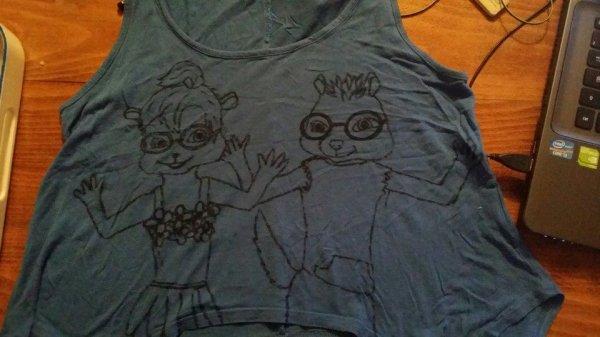 mon t-shirt [Dessin fais par moi]