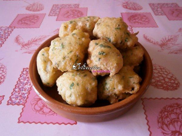 Tortas de bacalao (beignets de morue)