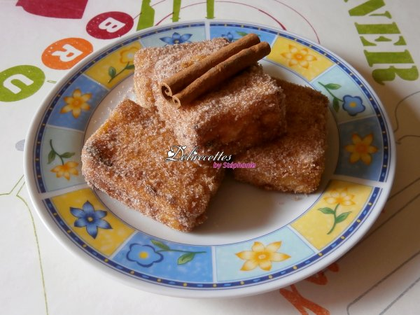 Leche frita (lait frit)