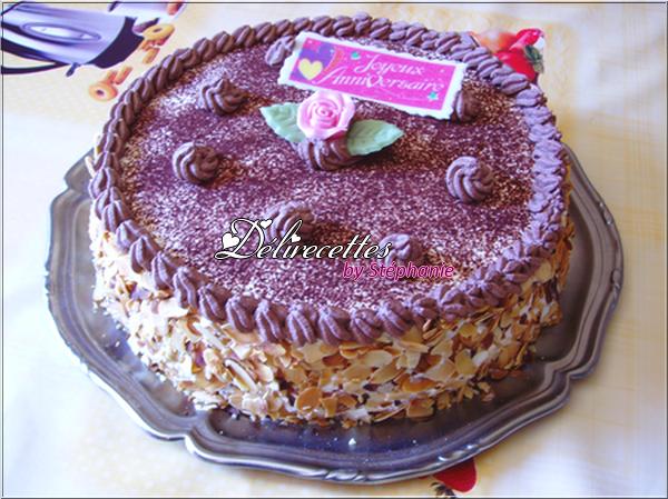 Gâteau chocoframboises