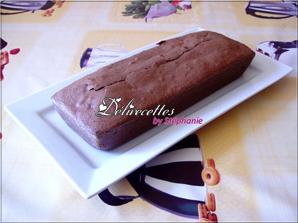 Cake au chocolat et aux pépites de chocolat