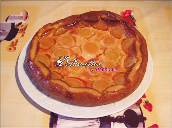 Clafoutis aux abricots