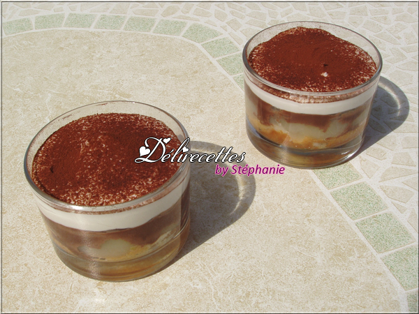 Verrines poire chocolat