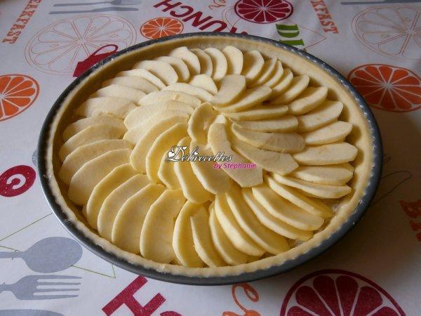 Tartes aux figues et aux pommes à la cardamome