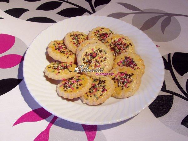 Biscuits vanillés aux amandes