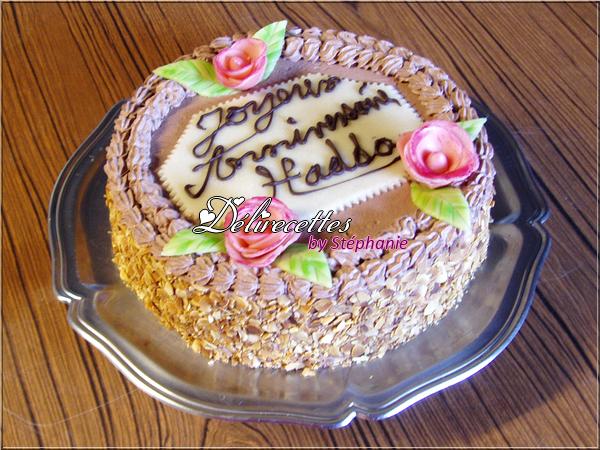 Gâteau d'anniversaire de Hadda