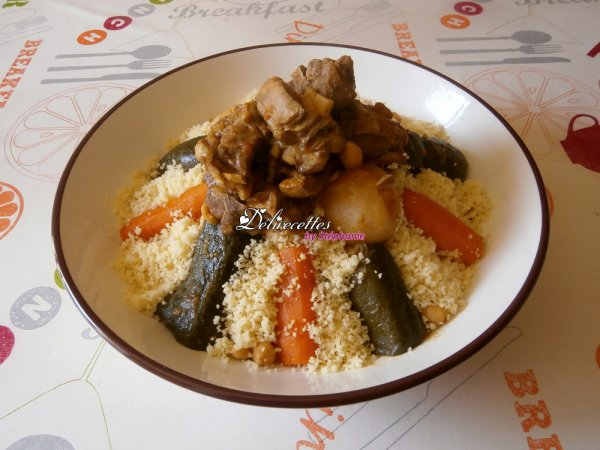 Couscous algérien traditionnel