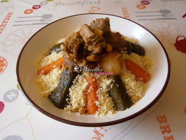 Couscous algérien traditionnel