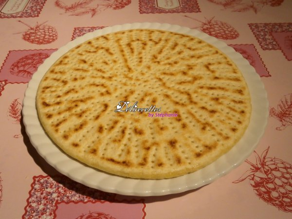 Kesra (galette à la semoule)