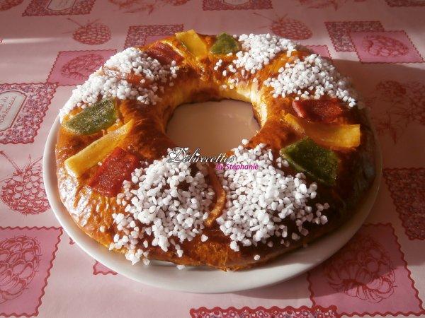 Couronne des rois - Roscón de Reyes