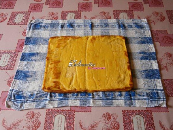 Torta de laranja (roulé à l'orange)