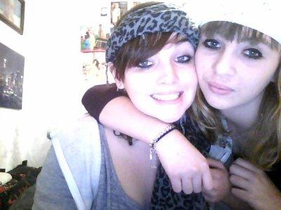 Ma petite soeur et moi ;P