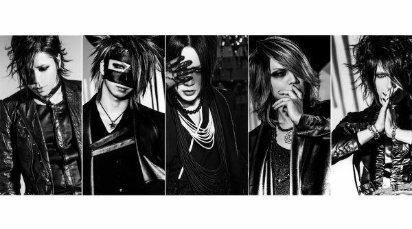 The GazettE new look  2016 .