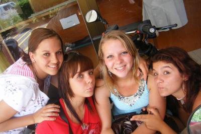 Kristen, Anais, Popo et Marion