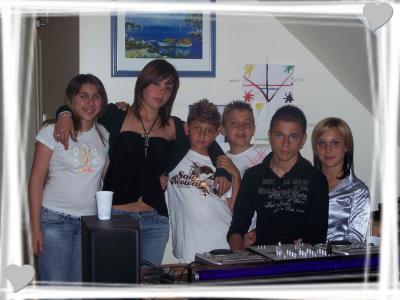 Kéké, Anais, Cedric, Maxim, Greg et Moi