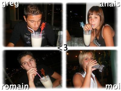 Greg, Romain, Anais et moi