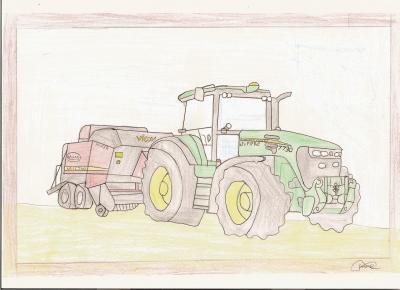 Dessin de brandon bruder du 61 - Dessin anime de tracteur john deere ...