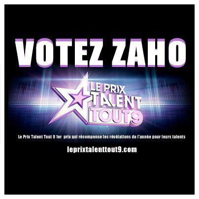 Votez ZAHO ! :)