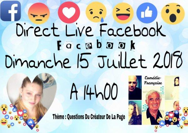 Direct Live Facebook