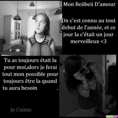 Mon beibeii d'amour <3