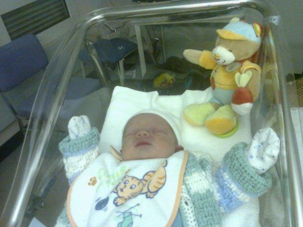 lucas a sa naissance