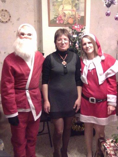 le pere noel, ma belle mère et moi