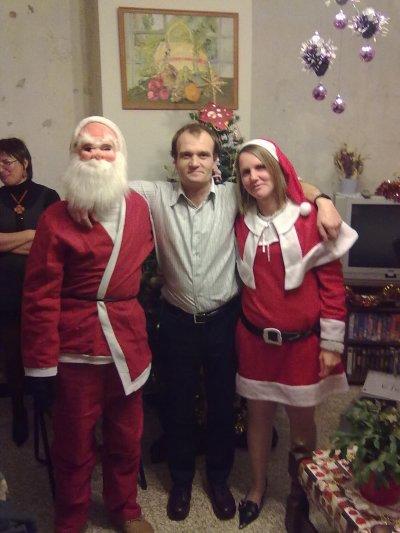 le père noel, dominique et moi