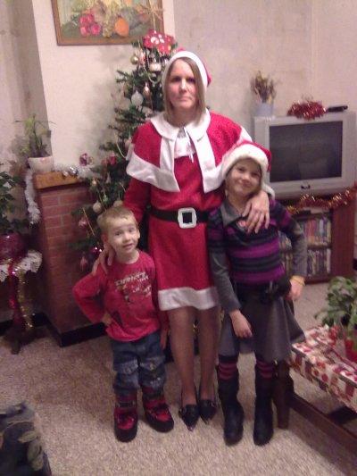 mon fils, ma fille et moi !