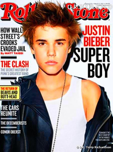Justin dans le magazine ROLLING STONE