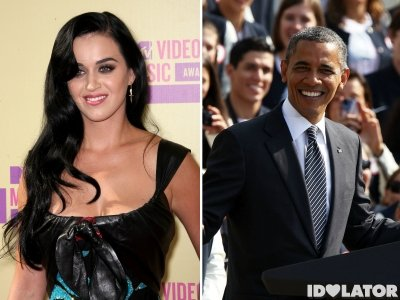Katy  Perry chante pour Obama : Bilan