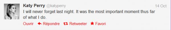 Katy Perry poste sa vidéo avec Jodi DiPiazza sur Twitter