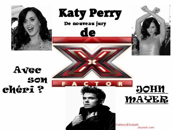 Katy dans X-Factor // 3 millions de dollards pour son autobiographie // Sa maison à 8 millions de dollards