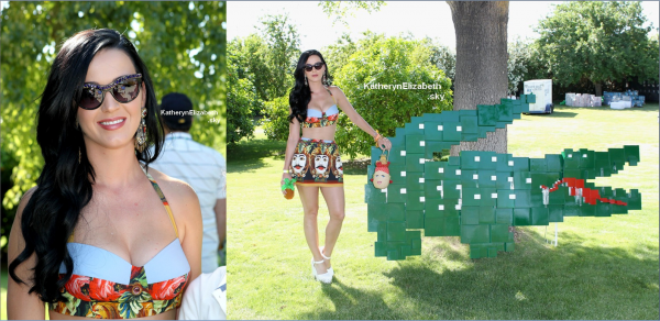 13 & 14/04 : Katy au Festival Coachella //  Katy pour l'association Chime For Change // + Infos sur l'avancement de son 4ème album !