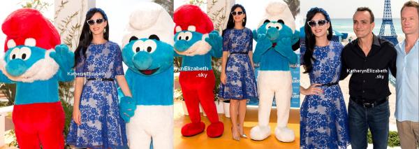 22.04 : Katy fait la promo des Schtroumpfs 2 à Mexico !