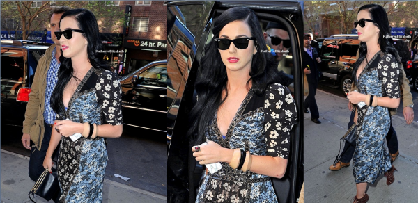 01.05 : Katy quittant un spectable musical + Participation au Delete Blood Cancer (+ Petit hommage... ♥)