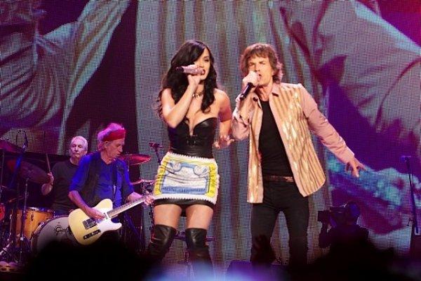+  11.05 : Katy sur scène avec les Rolling Stones // 13.05 : Katy quittant le studio.