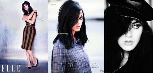 Katy en couverture du magasine ELLE (UK) // 28/07 : Avant-première des Schtroumpfs 2 //  3 teasers promo nouveau single + dates de sortie du single et du nouvel album !