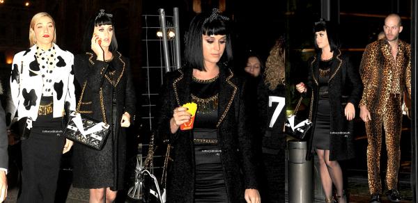 [CLIP DE DARK HORSE] //  +  20.02 : Fashion Week à Milan // 19.02 : Brits Awards (+ After-Party)
