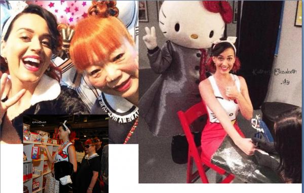 +  31.10 : Halloween as a Cheetos // 30.10 : Hello Kitty Con // 25.10 : BDAY PARTY // + Katy chez Becky G (Clip) // + INSTAGRAM // + INFOS