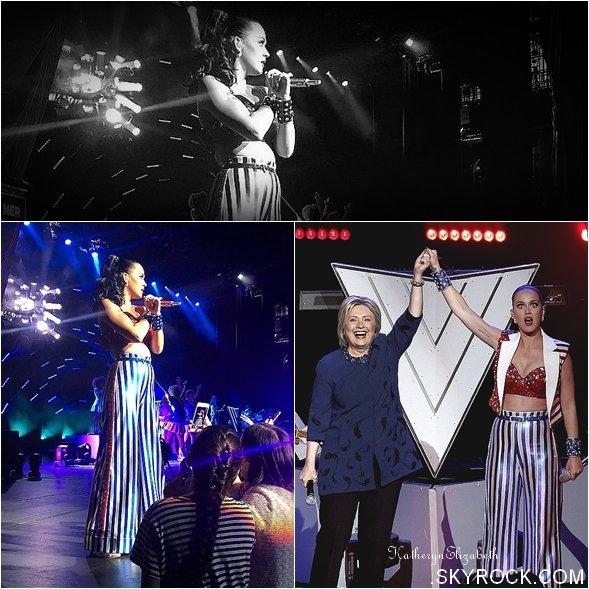 +  02.03 : Sur scène pour Hillary // 27.02 : Katy & Orlando Bloom // 24.02 : Concert privé à Mauï (Hawaï) // INSTAGRAM