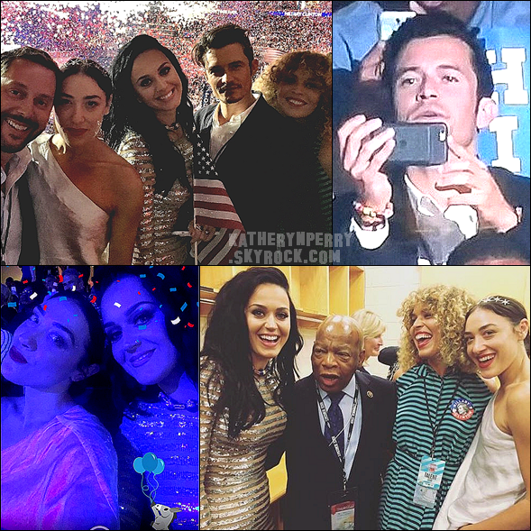 +  28.07 : Democratic National Convention // 27.07 : Selfies w/ KatyCats // INFO : Sortie du clip de Rise !