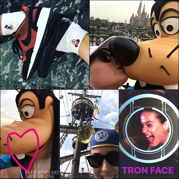+  23.09 : Orlando & Katy à Shanghai (DisneyLand) // Funny Or Die : Katy Votes Naked // + INFOS