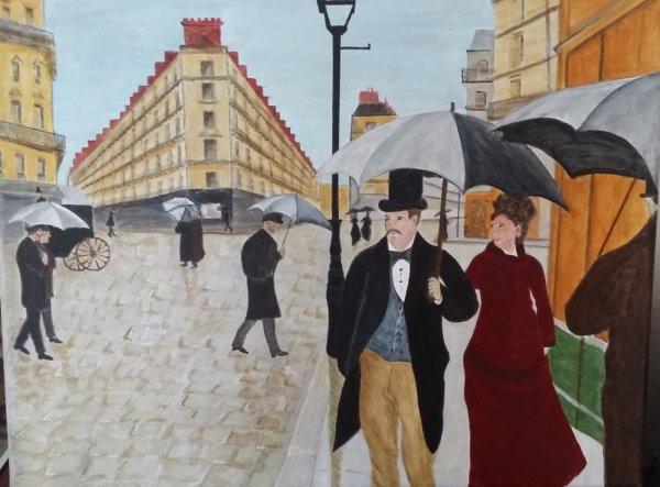 PARIS - de Gustave CAILLBOTTE - 1877